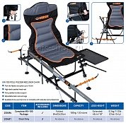 20491кресло рыболовное MIDDY MX-100 Pole/Feeder Recliner Chair *Chair Only*